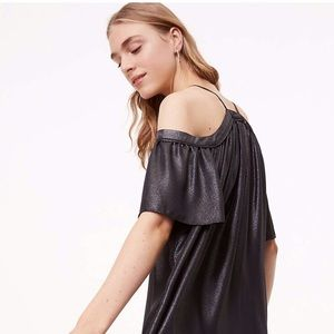 b5b72d6898b LOFT Dresses - LOFT Black Shimmer Dress